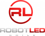 gallery/logo robot led chile - color original - by dieworks